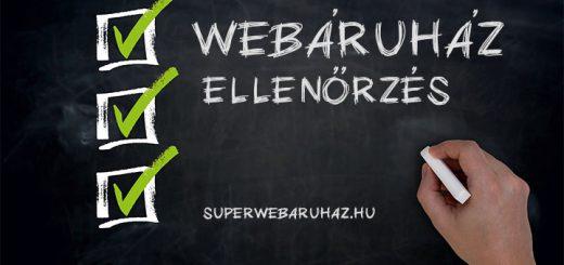 Webáruház audit