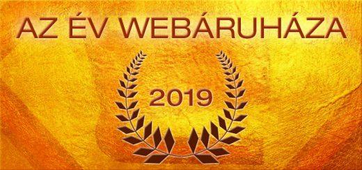 Az Év Webáruháza 2019